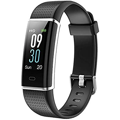 icefox Fitness Wristband Smart Fitness Trackers Watch Waterproof IP67 Bluetooth Activity Tracker with Heart Rate Monitor Estimated Price £41.34 -