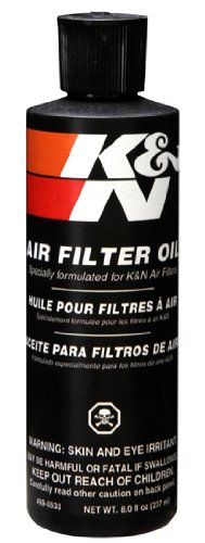 K&N 99-0533 Air Filter Oil - 8 oz. Squeeze