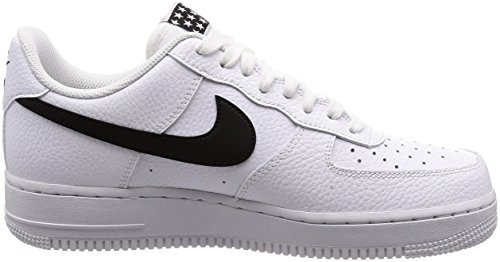 103 White Black Black Trainers Nike Air Force 1 Men's Hxx8fSZ