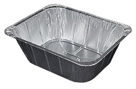 Durable embalaje vapor de aluminio mesa, extra profundo de cacerola, fundas, 4 –