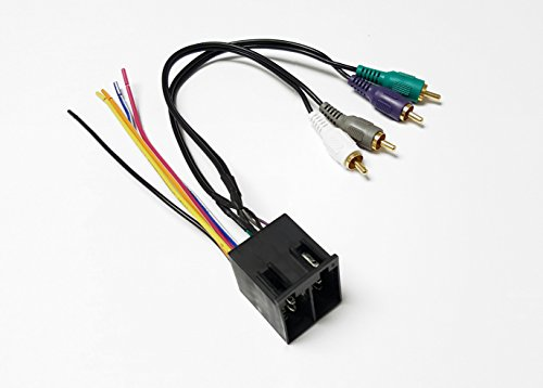 70-1786 Mercedes Landrover Saab Aftermarket Radio Wiring Harness and Amplifier Integration (Land Rover Aftermarket)