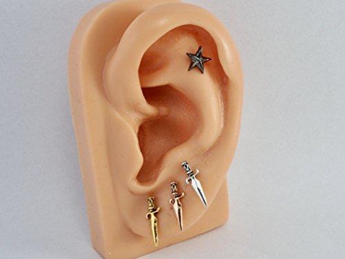 Buy sword earring stud