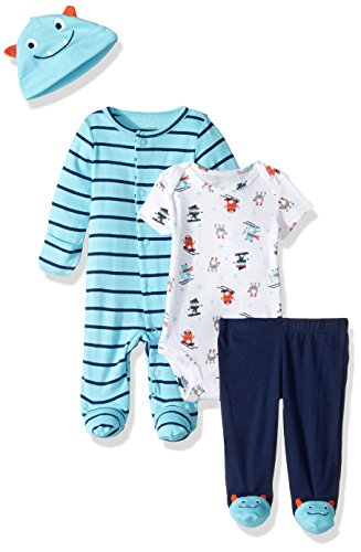 Carter's Baby Boys' 4 Pc Sets 126g407, Turquoise, NB