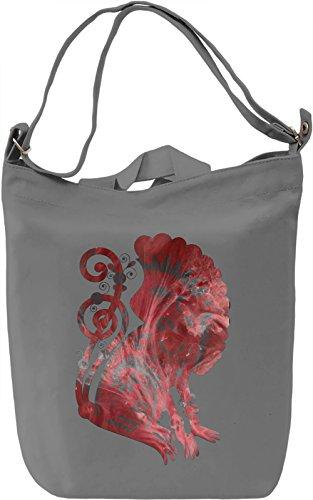 Native Creature Borsa Giornaliera Canvas Canvas Day Bag| 100% Premium Cotton Canvas| DTG Printing|