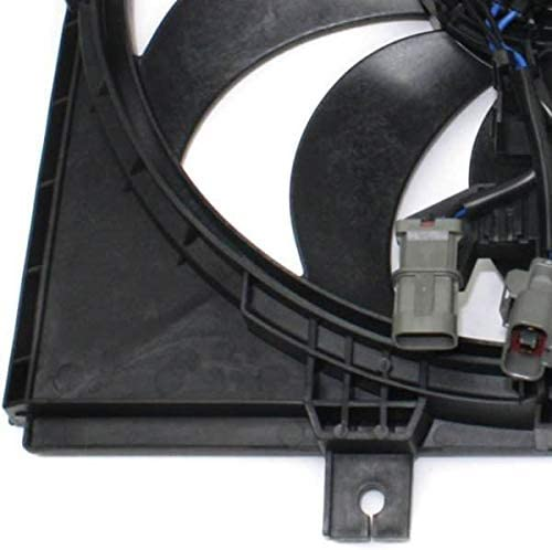 Automotive Cooling Radiator Cooling Fan Assembly For Nissan Versa Note TWO PLUG CVT TRANS NI3115143 100/% Tested