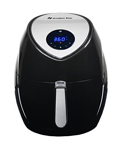 Airfryer Xl With Rapid Air Circulation Technology  Extra Large 5 8 Quart Capacity  Temperature Up To 400 Degrees  Oil Less Healthy Air Fryer  Black  Ab Airfryer500ss