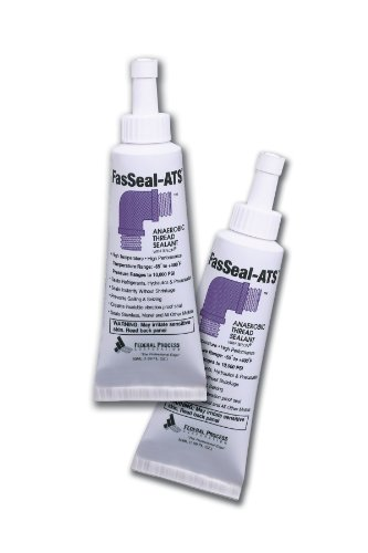 Gasoila FasSeal ATS Anaerobic Thread Sealant with PTFE, -60 to 375 Degree F, 250mL Tube