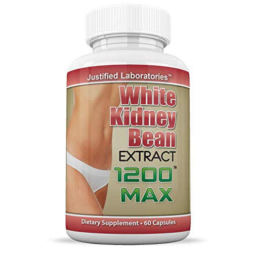 White Kidney Bean 1200 Max Weight Loss Carb Blocker Fat Burner 1200 MG 60 Capsules Per Bottle 10 Bottles by Justified Laboratories (Image #1)