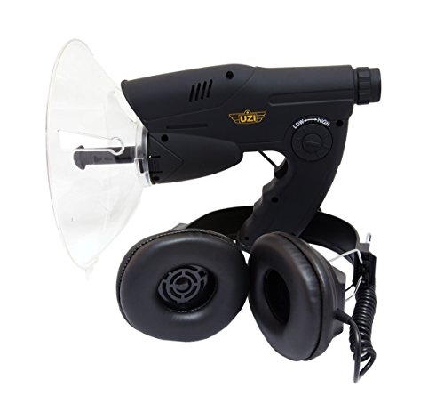 CampCo Uzi Uzi-OD-1 Observation Listening Device with 300-Foot Range and Noise Reduction, Black