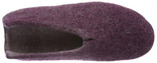 Donna Viola 58 Sicilia Rohde Foderato violett Pantofole Da Violett Caldi qAOpwYX