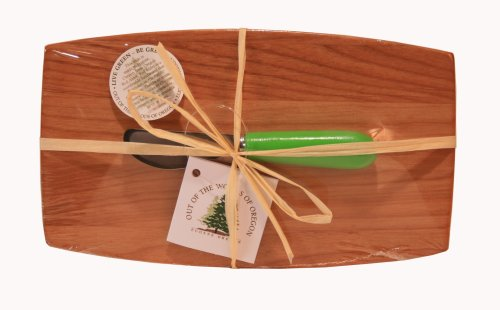 Oregon Pate Board - Out of the Woods of Oregon Pate Board with Light Green Spreader