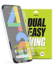 For Pixel 4A Ringke Screen Protector Dual Easy Film (2packs) clear