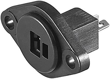 mit Schraubanschluss Boxen Audio Adapter Kabelanschluss Lautsprecher Stecker 1 St/ück Gewinkelt 90/° Schraubbar Knickschutz 2,2 mm Schwarz DIN Lautsprecherstecker