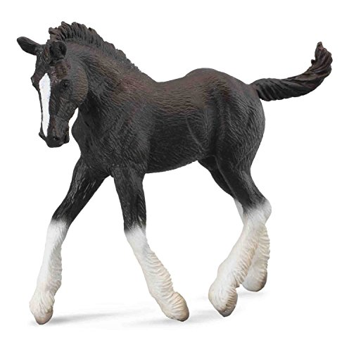 - Collecta Shire Horse Foal, Black
