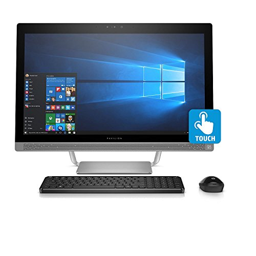 "HP Pavilion Touchscreen Full HD 23.8"" All-in-One Desktop, Intel Core i5-6400T Processor, 8GB Memory, 1TB Hard Drive, 2GB NVIDIA GT930MX GDDR5 Graphics, DVD-Writer, 3D IR Webcam, Windows 10 Home"