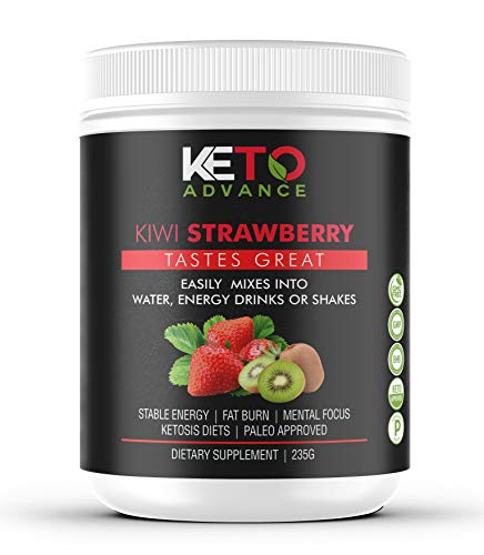 Keto Advance BHB Salts – Exogenous Ketone Supplement – Burn Fat Instead of Carbs – Ketogenic Supplement – Get into Ketosis Fast