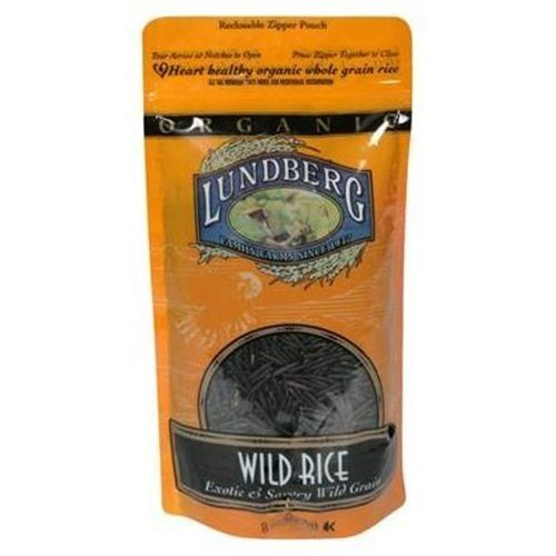 Lundberg Organic Wild Rice 8 OZ (Pack of 18) by Lundberg