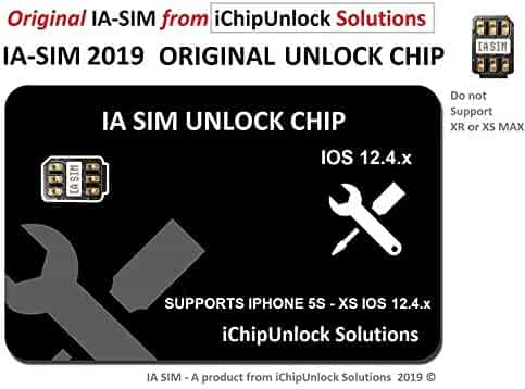 ICHIPUNLOCK CHIP AUTO v12.3.1 Compatible with iPhone 5s to XS, Unlock AT&T, Verizon, Sprint, T-Mobile, Xfinity, Metro PCS, Boost, Cricket to Any GSM Networks. DO NOT Support CDMA SIM Cards