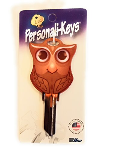 (Ilco Owl Shape Personali-Key SC1 Key Blank)