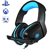 PS4 Xbox One Gaming Headset for Headphone Noise...