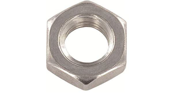 M10-1.5 DIN 562 Thin Square Nuts 600 pcs Metric A2 Stainless Steel