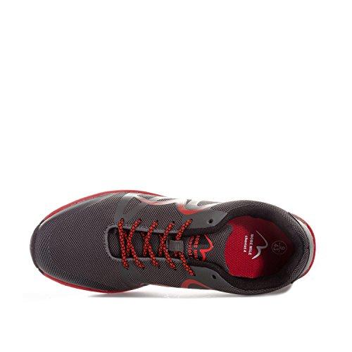 More Mile Zapatillas de Running de Tela Para Hombre Gris Gris