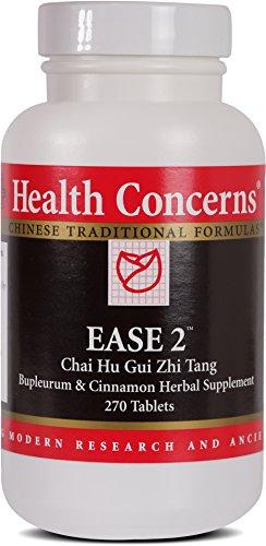 Health Concerns - Ease 2 - Chai Hu Gui Zhi Tang Bupleurum & Cinnamon Herbal Supplement - 270 (Gui Zhi Tang)