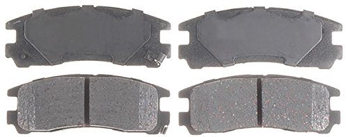 ACDelco 14D383CH Advantage Ceramic Rear Disc Brake Pad (Eagle Talon Brake Pad)