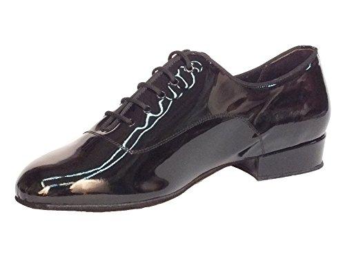 Vitiello Dance Shoes Classic vernice standard - Zapatillas de danza de Piel para hombre Negro negro Classic vernice nero