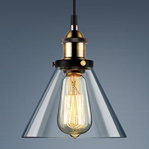 Glass Funnel Pendant Light - 8