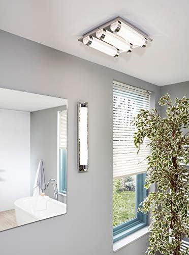 EGLO Tolorico illuminazione da soffitto Cromo, Trasparente LED A++