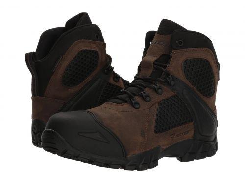 Bates Footwear(ベイツ) メンズ 男性用 シューズ 靴 ブーツ 安全靴 ワーカーブーツ Shock FX Comp Toe Canteen [並行輸入品] B07DNPN48J 12 EE Wide