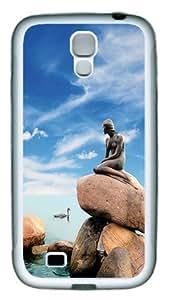 The best Samsung Galaxy S4 Cases and Covers - Little Mermaid Statue Copenhagen Denmark Custom Design Samsung Galaxy S4 / SIV / I9500 Case Cover TPU White