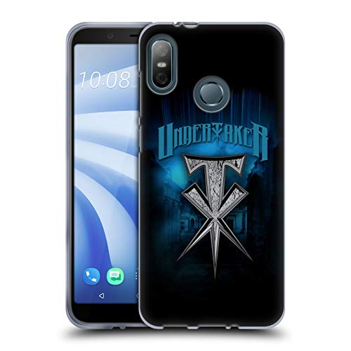 (Official WWE Stone Cross The Undertaker Soft Gel Case for HTC U12 Life (2018))