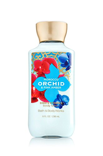 Bath and Body Works Morocco Orchid Pink Amber Lotion 8 Ounce