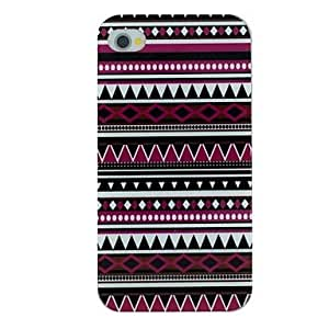 GJY Deep Folk Style Pattern TPU Material Soft Back Cover Case for iPhone 4/4S