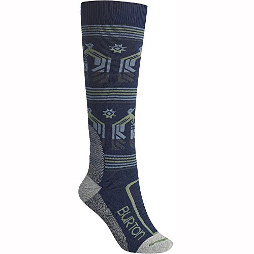 Burton - Womens Trillium Snow Socks 2017, Jaded, M/L by Burton