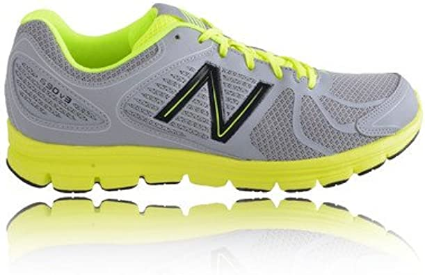 New Balance m690 V3 Zapatillas de running, grey - yellow - black: Amazon.es: Deportes y aire libre
