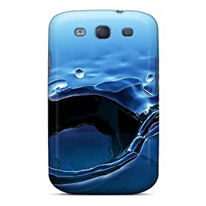 Awesome BJP1405Qwmu Abrahamcc Defender Tpu Hard Case Cover For Galaxy S3- Rain Drop