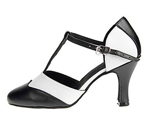 Damen Tanzschuhe, schwarz - schwarz - Größe: 37 Minitoo