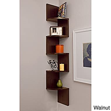 1 X Metro Shop Laminated Veneer Corner Wall Mount Shelf