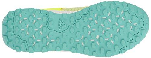 adidas Performance Damen Aleki X Cross-Trainer Schuh Gelb / Gelb / Aqua