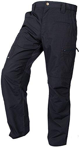 LA Police Gear Men's Teflon Coated Water Resistant STS Atlas Tactical Cargo Pant Navy-34 x 32
