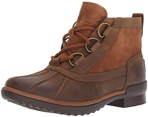 UGG Women's W Heather Boot Fashion, chestnut, 9 M US