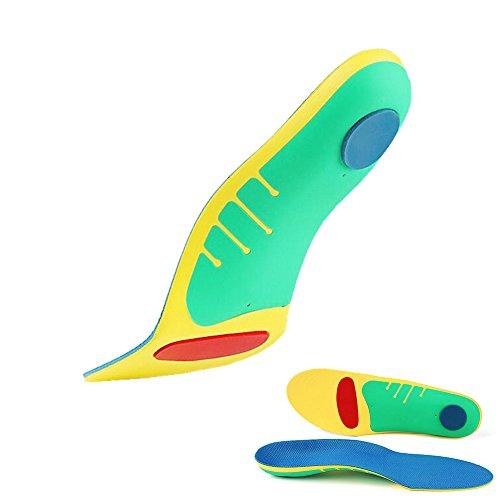 Full Length Supination Orthotic Insoles,Arch Support Foam Shoes Inserts for Plantar Fasciitis,Flat Feet, Heel Spurs, Foot Pain and Pronation, Insoles for Men & Women (Men's 7.5-10.5/Women's (Full Length Arch Support)