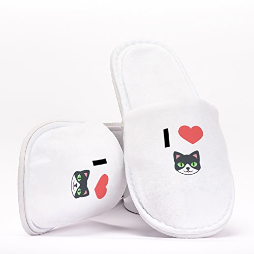 für Geburtstage Individuelles Emoji Cats Einheitsgröße Heart Hausschuhe Love Geschenk Junggesellinnenabschiede Hochzeiten I Reisen nqSP81wfC