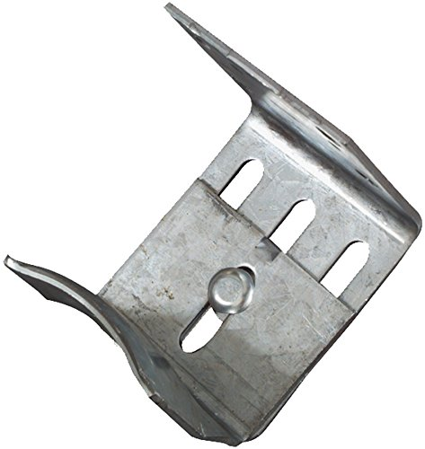 National Mfg. 131706 Galvanized Stanley Adjustable Door Guide, 3/8'' x 5-1/2'' by National Mfg. (Image #1)