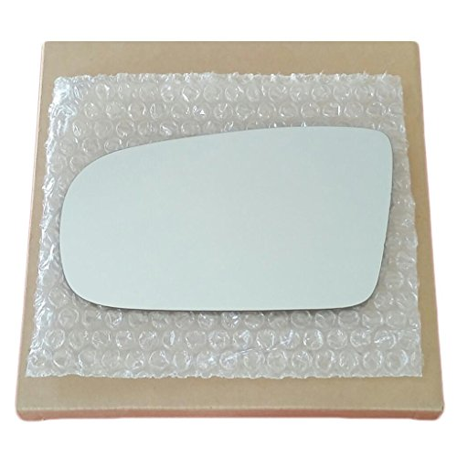 (Mirror Glass and Adhesive 1995-2005 Chevy Cavalier or Pontiac Sunfire Driver Left Side)