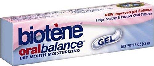 3 Pack Biotene Oral Balance Dry Mouth Moisturizing Gel 1.5 oz soothe oral tissues long (Balance Moisturizing Gel Oral Biotene)