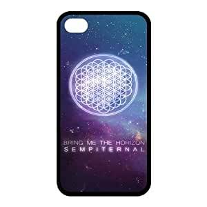 Diy iPhone 6 plus High be Quality Customizable Durable Rubber Material Bring Me The Horizon BMTH iPhone It 4 6 plus Back Cover Case absorbed This
